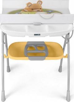 CAM пеленальный столик Volare Белый с бежевым C203008-C198