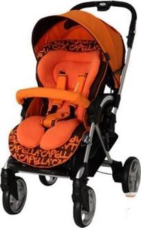 Capella прогулочная коляска S709 Оранжевый 110702o