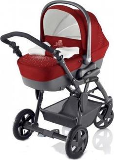 CAM універсальна коляска Dinamico Красный 896010/T178