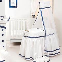 Ruggeri люлька CONIGLIETTI Белый с синим 03.04/V7