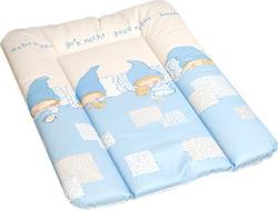 Ceba Baby пеленальный матрасик мягкий 50х70 Good Night Голубой PMM5070-01