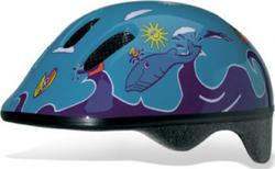 Bellelli шлем детский Taglia size-M  Fish Azzurro HEL-64-04