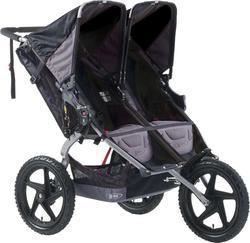 BOB прогулочная коляска Sport Utility Stroller Duallie Black 2000008027