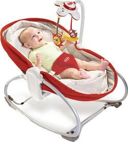 Tiny Love Крісло-ліжко-гойдалка 3 в 1 «Мамина любов» Red 1801006830bbg