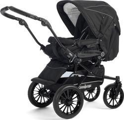 Emmaljunga прогулочная коляска Super Nitro All Black 27402em