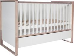 Bellamy ліжечко з шухлядою 120х60 Simple Дуб/белый BLS1001014