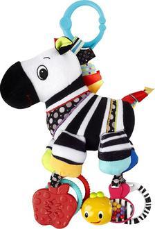 Kids II підвісна розвиваюча іграшка Смугасті звірята - Зебра Зебра 9078