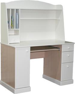 MyBaby стол компьютерный с надстройкой Glamour Bunny ваниль 120303 130303
