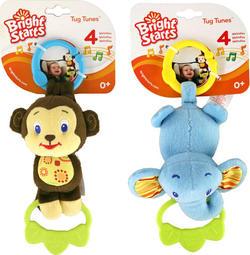 Kids II підвісна іграшка Музичні звірята (2 в асортименті) Kids II Музыкальные зверята 9179