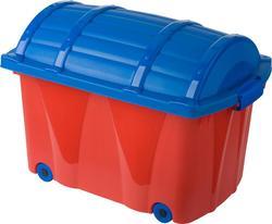 Prima-Baby ящик для игрушек на колесах Prima-Baby красно-синий 0571.58