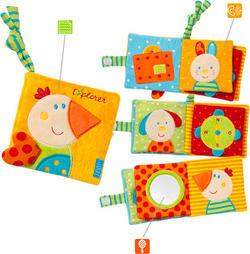 Fehn розвиваюча іграшка М'яка книжка Fehn Мягкая книжка 97269