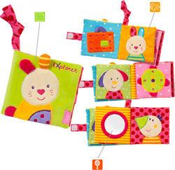 Fehn развивающая игрушка Мягкая книжка Fehn Мягкая книжка 97276