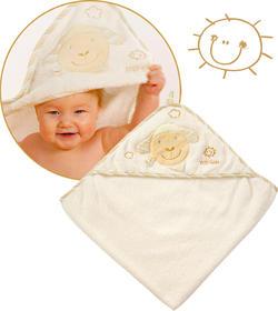 Fehn рушник з капюшоном  Fehn полотенце с капюшоном ягненок 397086