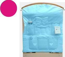 MaryBaby карман для вещей на кроватку STELLINA розовый 13PAN/ST/R