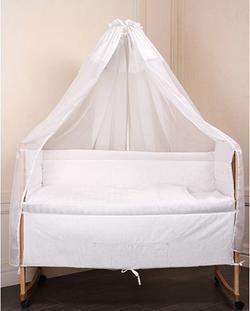 Руно комплект в детскую кроватку «Прованс» 7 предметов белый 789ПУ
