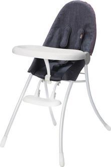 Bloom детский стульчик Nano белый downtown denim E10502-WDD-11-BKS