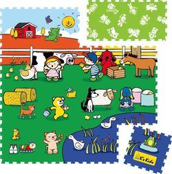 K's Kids килимок-пазл коврик - пазл 10676et