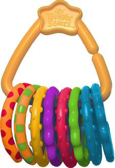 Kids II підвісна іграшка Різноманітність кілець Цветные кольца 10228