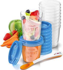 Avent контейнеры для хранения продуктов 20шт. Контейнеры для хранения продуктов 20шт 8710103671800