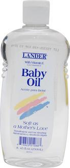Lander детское масло с Витамином Е Baby Oil with vit.E8.5oz 813822010887