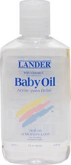 Lander детское масло с Витамином Е Baby Oil with vit. E 3oz 813822010078