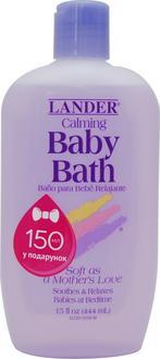 Lander детская пенка для ванны успокаивающая 444 мл Calming BabyBath 444мл 813822011075