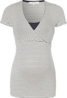 Noppies футболка для кормления Dolores str темно-синяя L 20577-C165-L