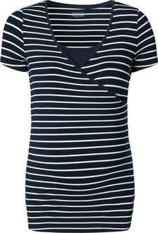 Noppies футболка для кормления Tee Lely YD темно-синяя XL 66222-C165-XL