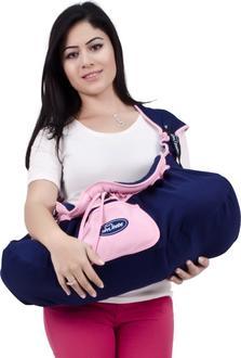 Sevi bebe люлька переноска для новорожденного розовый 8692241158323