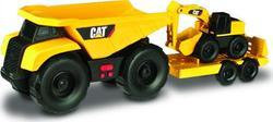 Toy State минитрейлер Самосвал и прицеп с экскаватором 28 см 34761