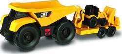Toy State минитрейлер 28 см Самосвал и прицеп с двухковшовым экскаватором 34763