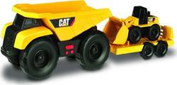 Toy State минитрейлер 28 см Самосвал и прицеп с погрузчиком 34762