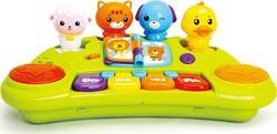 "Huile Toys игрушка ""Пианино со зверятами"" 2103Aafk"