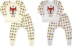 """Smil пижама футер с начесом """"Маски"""" в ассортименте 98 104347-98sm"""