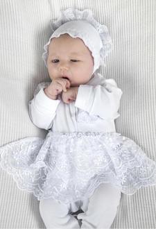 Модный карапуз комплект на выписку 50-56 белый 03-00627-50-56 белый