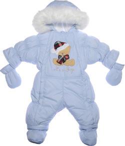 "Garden baby комбінезон-трансформер ""Ластенок"" блакитний 68 голубой 101010-36/32-68-голубой"