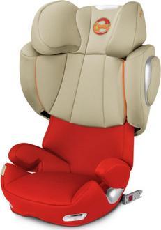 Cybex автокресло Solution Q3-fix Plus Autumn Gold-burnt red 517000105bbg
