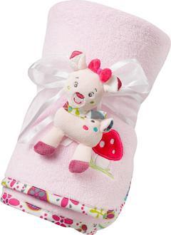 Fehn флисовое мягкое одеяло  Fehn флисовое мягкое одеяло олененок 76868
