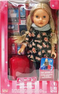 Lotus Onda кукла с аксессуарами для путешествий 18899/1ep