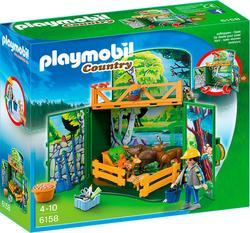 """Playmobil коструктор серии """"Возьми с собой"""" Лесные животные 6158ep"""