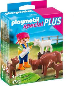 Playmobil конструктор «Отдельные фигурки» девочка с козлятами 4785ep