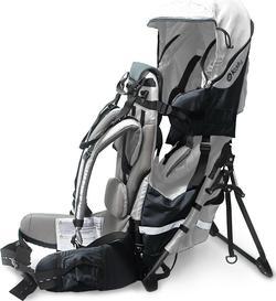 Kiddy рюкзак-переноска Adventure Pack grey 47200RT029
