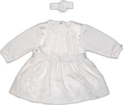 Garden baby крестильный комплект для девочки, белый 62 29123-16-62-білий