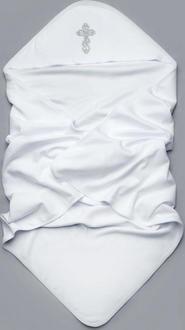 Модный карапуз крыжма интерлок 03-00578-белый