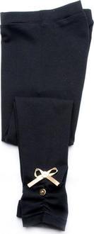 Модный карапуз лосины стрейч, черный 98 03-00519-98-черный