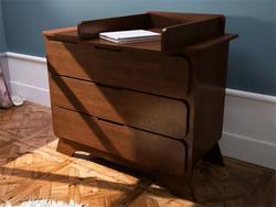Indigowood комод с пеленальным столом Nova Premium 34502-indigo