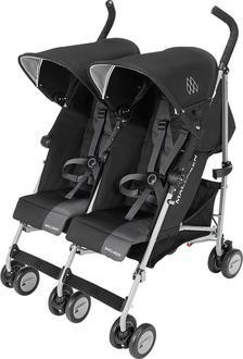 Maclaren коляска-трость для двойни Twin Triumph Black/Charcoal WM1Y120032