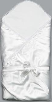 Модный карапуз одеяло для выписки белый 03-00648-белый