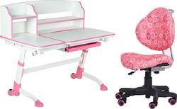 FunDesk стол-трансформер Amare II + детский стул SST5 Pink Amare II Pink+SST5 Pink