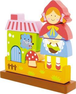 Viga Toys пазл деревянный, на магнитах  Красная Шапочка 50075afk